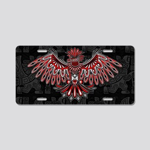 Eagle Tattoo Style Haida Art Aluminum License Plat