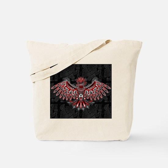 Eagle Tattoo Style Haida Art Tote Bag