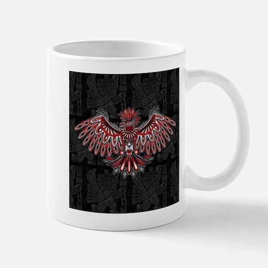 Eagle Tattoo Style Haida Art Mugs