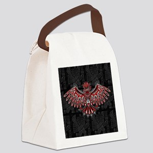 Eagle Tattoo Style Haida Art Canvas Lunch Bag
