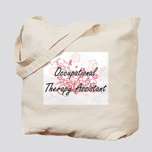 Occupational Therapy Assistant Artistic J Tote Bag