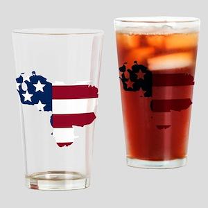 Venezuelan American Drinking Glass