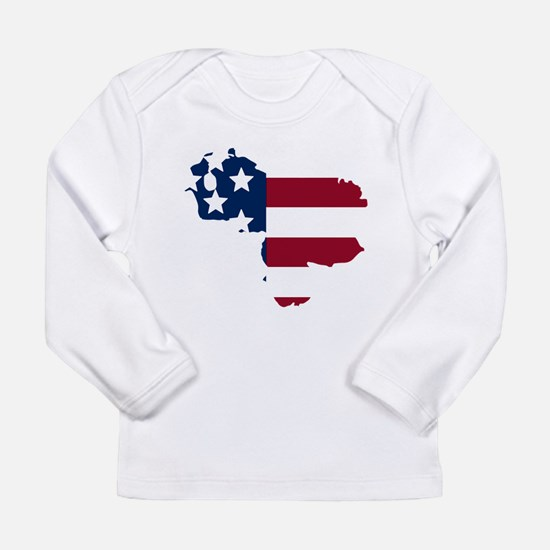 Venezuelan American Long Sleeve T-Shirt