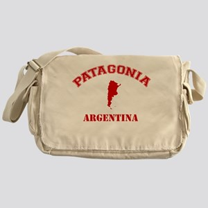 patagonia2 red Messenger Bag