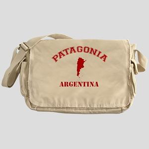 patagonia2 red Messenger Bag