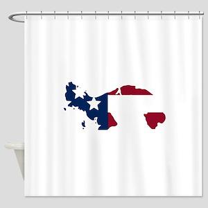 Panamanian American Shower Curtain