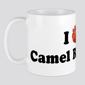 I (heart) Camel Racing Mug