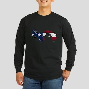 Panamanian American Long Sleeve T-Shirt