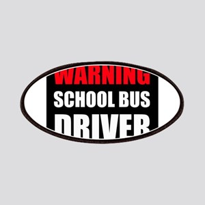 Warning School Bus Driver Patch