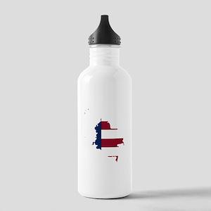 Colombian American Water Bottle