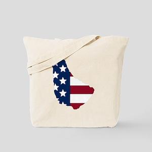 Barbadian American Tote Bag