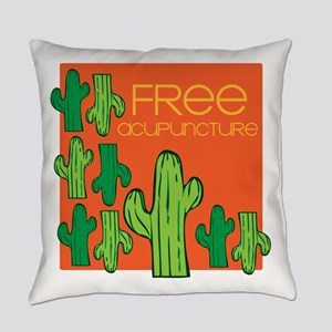 Free Acupuncture Everyday Pillow