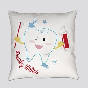 Pearly Whites Everyday Pillow