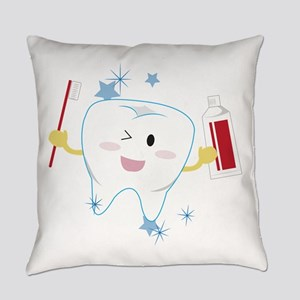 Tooth & Paste Everyday Pillow