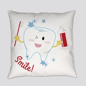 Smile! Everyday Pillow