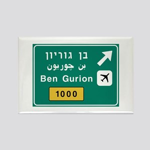 Ben Gurion Airport, Tel Aviv, Isr Rectangle Magnet