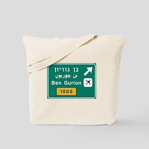Ben Gurion Airport, Tel Aviv, Israel Tote Bag