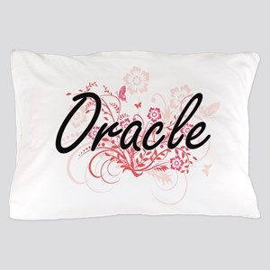 Oracle Artistic Job Design with Flower Pillow Case
