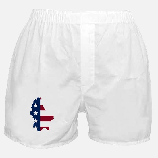 Luxembourgish American Boxer Shorts
