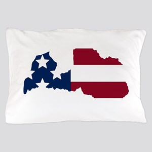 Latvian American Pillow Case
