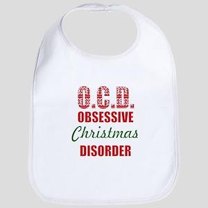 obsessive christmas disorder OCD Bib