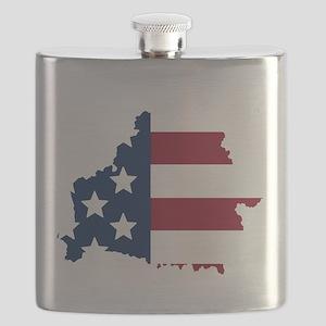 Belarusian American Flask