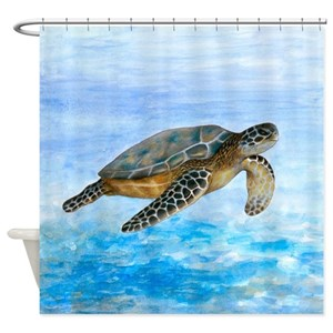 Sea Turtle Shower Curtains