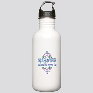 Square Dancing Fun Stainless Water Bottle 1.0L