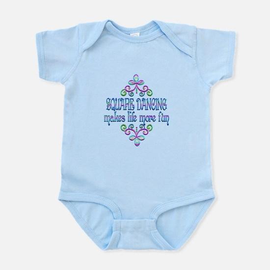 Square Dancing Fun Infant Bodysuit