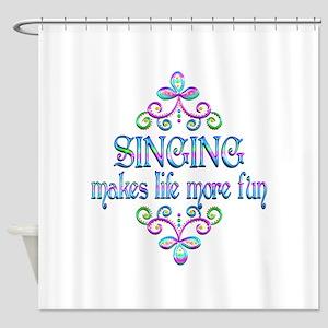 Singing Fun Shower Curtain