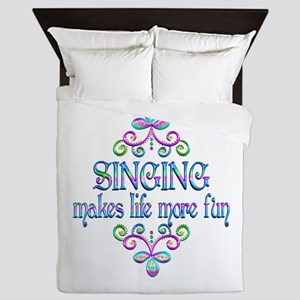 Singing Fun Queen Duvet