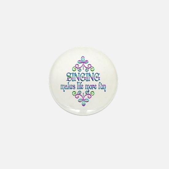 Singing Fun Mini Button