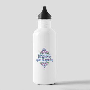 Singing Fun Stainless Water Bottle 1.0L