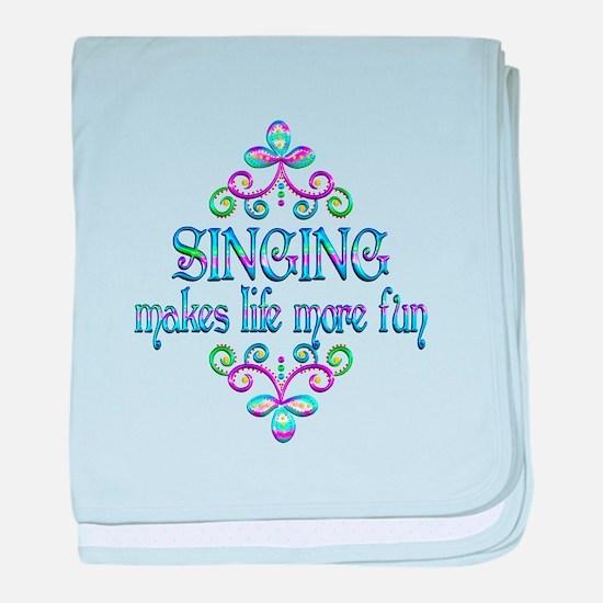 Singing Fun baby blanket