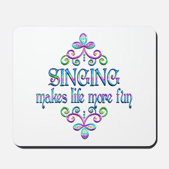 Singing Fun Mousepad
