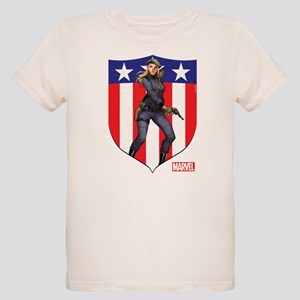 Agent Carter Standing Organic Kids T-Shirt