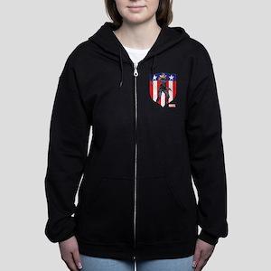 Agent Carter Standing Women's Zip Hoodie