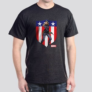 Agent Carter Standing Dark T-Shirt