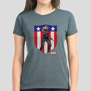 Agent Carter Standing Women's Dark T-Shirt