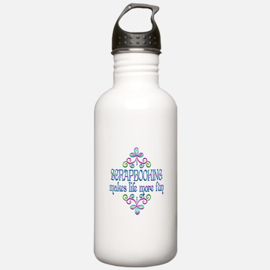 Scrapbooking Fun Water Bottle