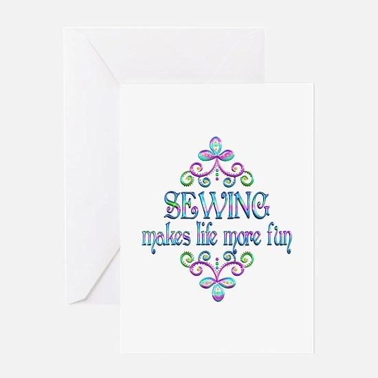 Sewing Fun Greeting Card