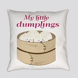My Little Dumplings Everyday Pillow