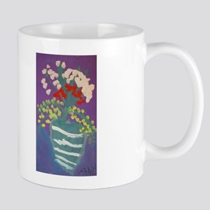 Flowers in Vase Mug (Double-side Print)