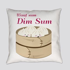 Dim Sum Everyday Pillow