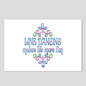Line Dancing Fun Postcards (Package of 8)