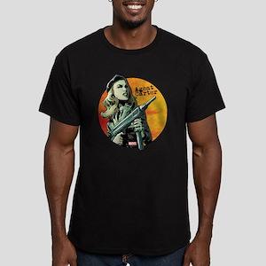 Agent Carter Machine G Men's Fitted T-Shirt (dark)