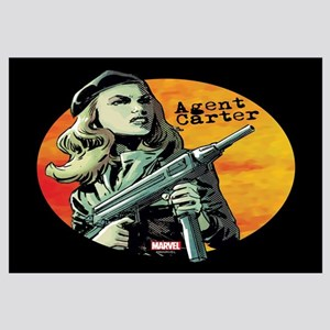 Agent Carter Machine Gun Wall Art