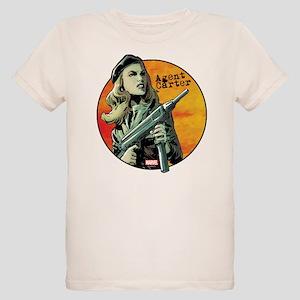 Agent Carter Machine Gun Organic Kids T-Shirt