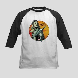 Agent Carter Machine Gun Kids Baseball Jersey