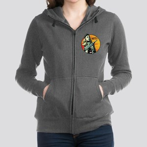 Agent Carter Machine Gun Women's Zip Hoodie
